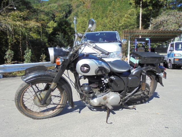 やれてる メグロ Z7 1958年式 ナンバー付き 実働 下取り歓迎^^ _画像1