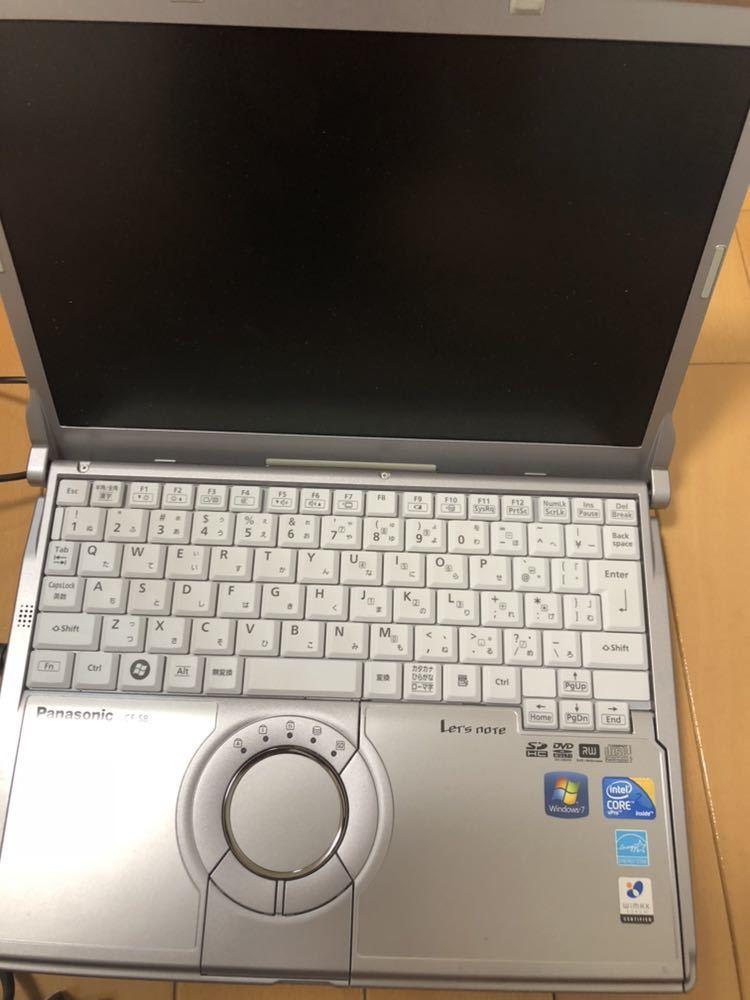 定価15万円 動作確認 パナソニック ノートパソコン Let's note S8 CF-S8HYEADR_画像2
