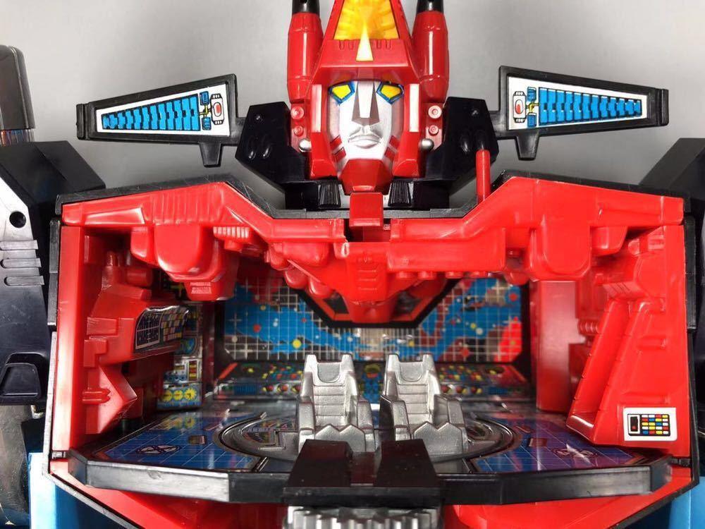 タカラ ダイアクロン ロボットベース カタログ 隊員付 当時物 昭和 ロボット メカ Diaclone TAKARA TheGreatRobotBase 希少_画像7