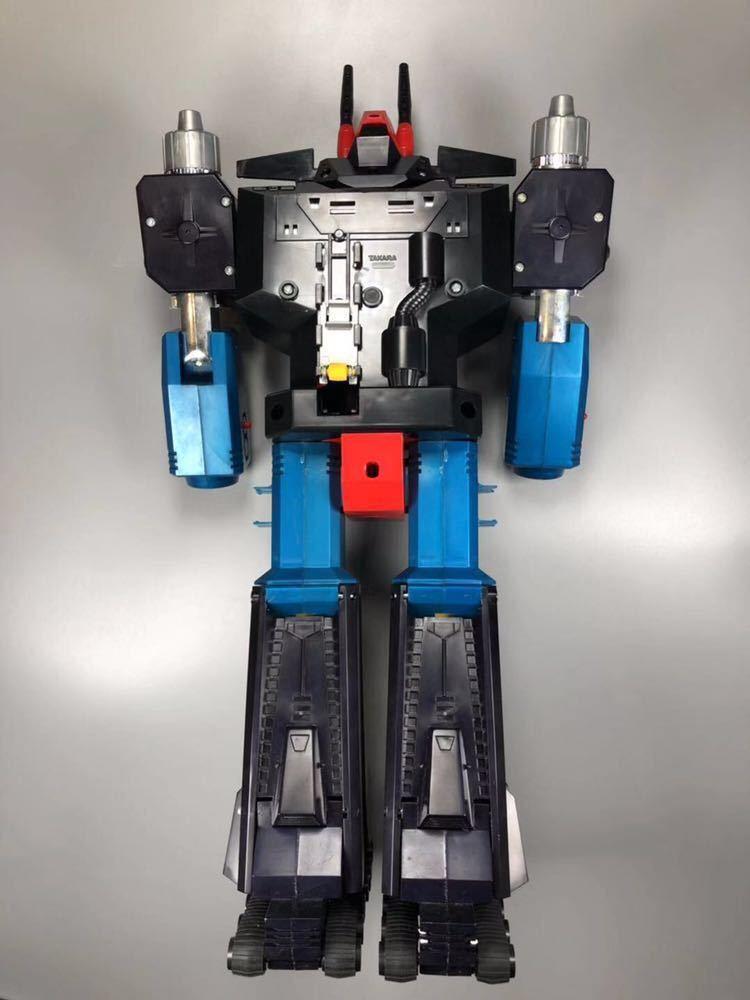 タカラ ダイアクロン ロボットベース カタログ 隊員付 当時物 昭和 ロボット メカ Diaclone TAKARA TheGreatRobotBase 希少_画像9