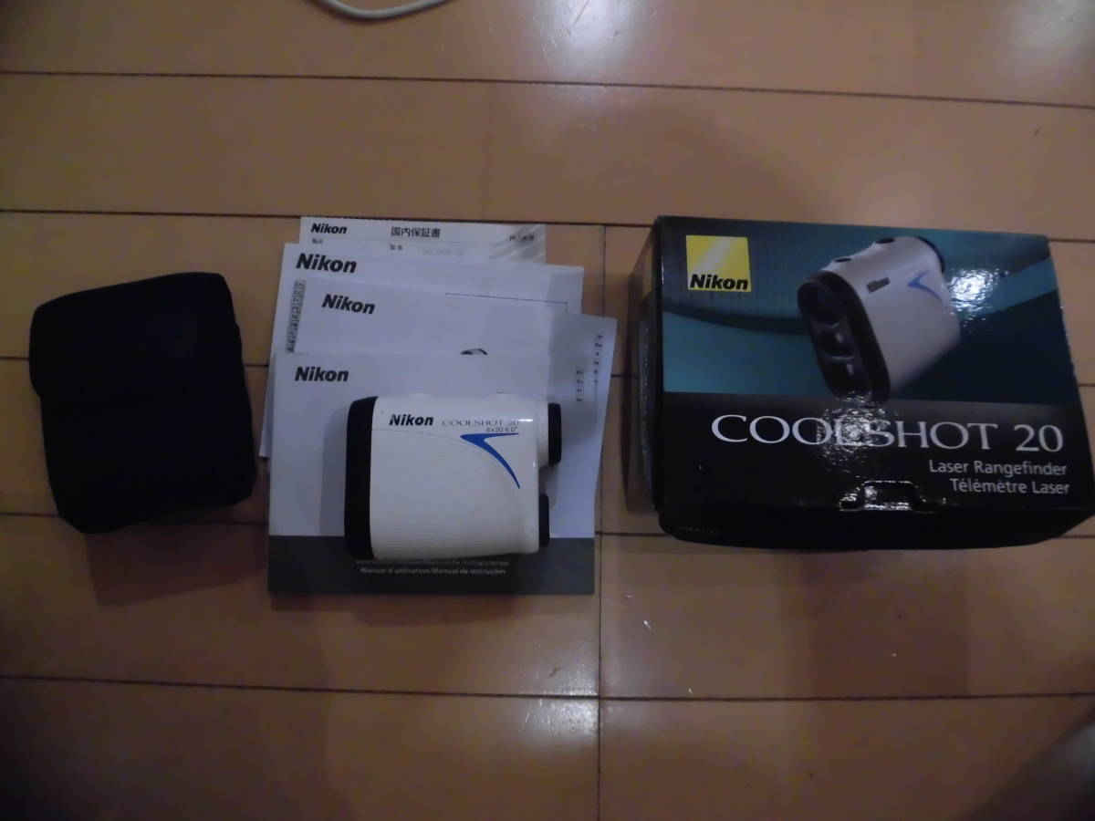 Nikon 携帯型レーザー距離計 COOLSHOT 20 中古美品
