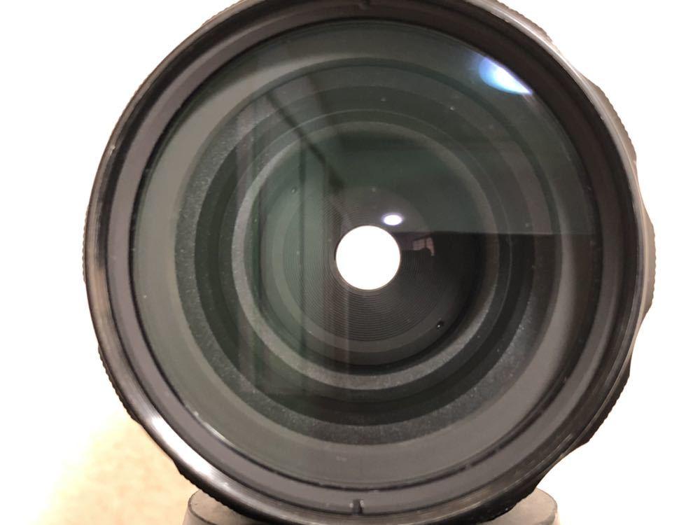 希少 ブラック Nikon F NIKKOR-H・C Auto 28mm f3.5 アイレベルファインダー ニコンF 黒 ニッコール 単焦点レンズ セット 現状品_画像10