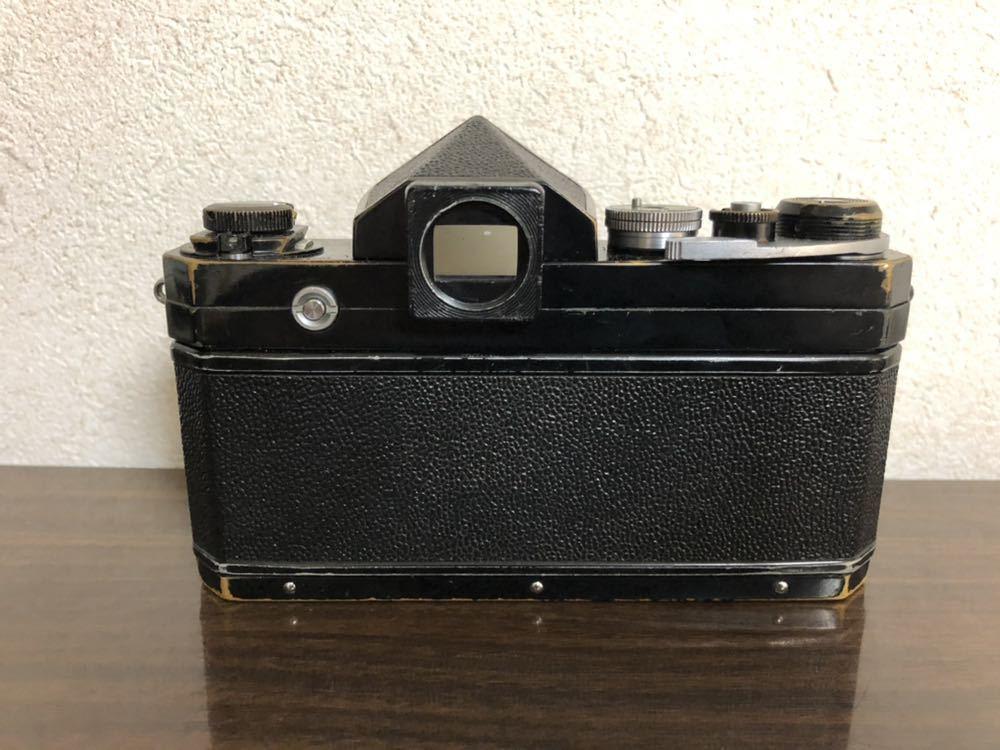 希少 ブラック Nikon F NIKKOR-H・C Auto 28mm f3.5 アイレベルファインダー ニコンF 黒 ニッコール 単焦点レンズ セット 現状品_画像5