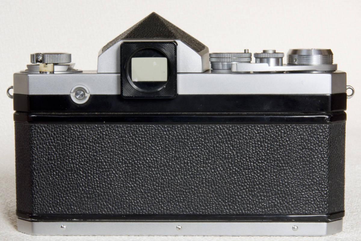 ニコンF アイレベル シルバー 719万番台 Nikkor-S Auto 50mm F1:1.4 正常動作確認品_画像5