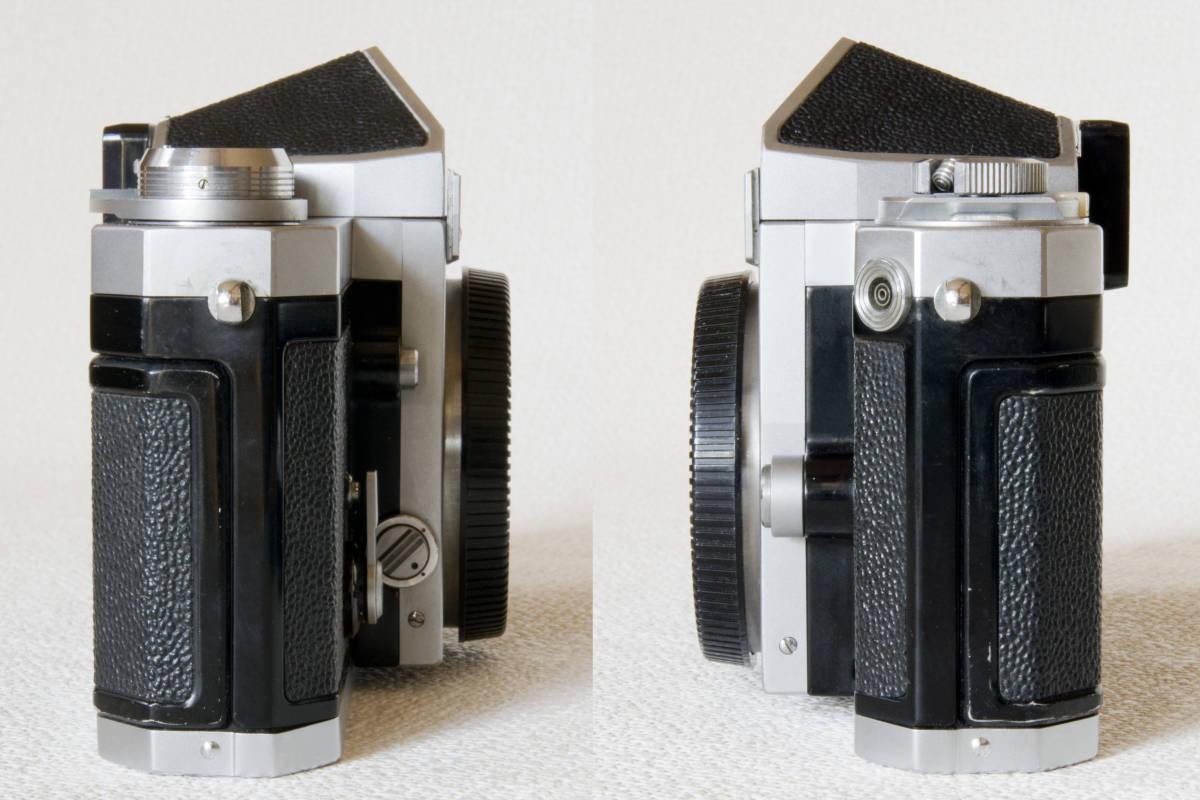 ニコンF アイレベル シルバー 719万番台 Nikkor-S Auto 50mm F1:1.4 正常動作確認品_画像6