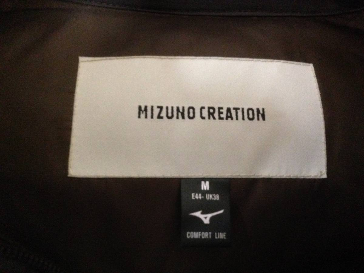 ミズノクリエイション MIZUNO CREATION ダウンジャケット M プレスサーモ_画像3