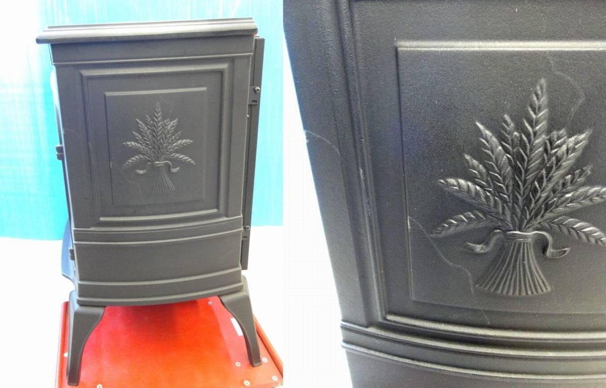 【ゆ319】Vermont Castings バーモントキャスティングス 暖炉型電気ヒーター モデルACS アメリカ製 ファンヒーター 鋳物 薪 温風 暖房_画像5