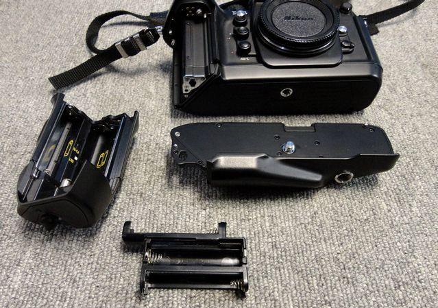 【YU340】NIKON ニコン 一眼レフカメラ F4S バッテリーパック MB-21付き ボディ 連写仕様 モダン クラシック フィルムカメラ_画像8