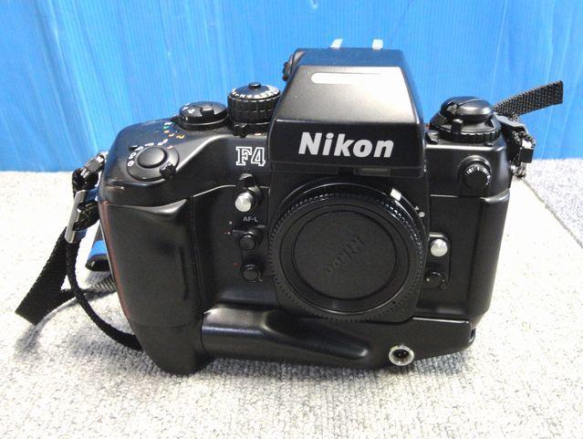 【YU340】NIKON ニコン 一眼レフカメラ F4S バッテリーパック MB-21付き ボディ 連写仕様 モダン クラシック フィルムカメラ_画像1