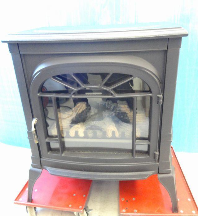 【ゆ319】Vermont Castings バーモントキャスティングス 暖炉型電気ヒーター モデルACS アメリカ製 ファンヒーター 鋳物 薪 温風 暖房_画像1