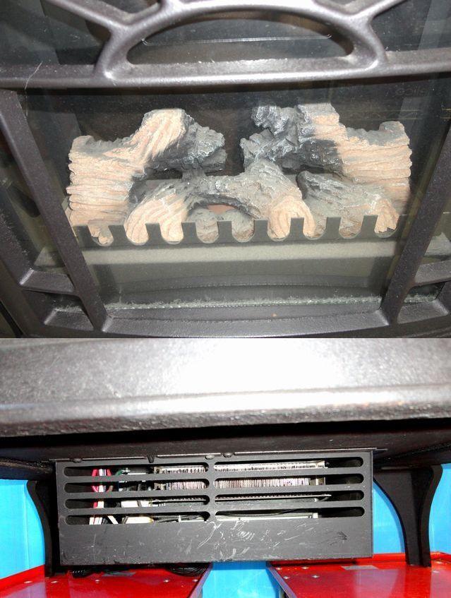【ゆ319】Vermont Castings バーモントキャスティングス 暖炉型電気ヒーター モデルACS アメリカ製 ファンヒーター 鋳物 薪 温風 暖房_画像2