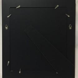 【原画】黒猫の招き猫/色紙額入り_画像3