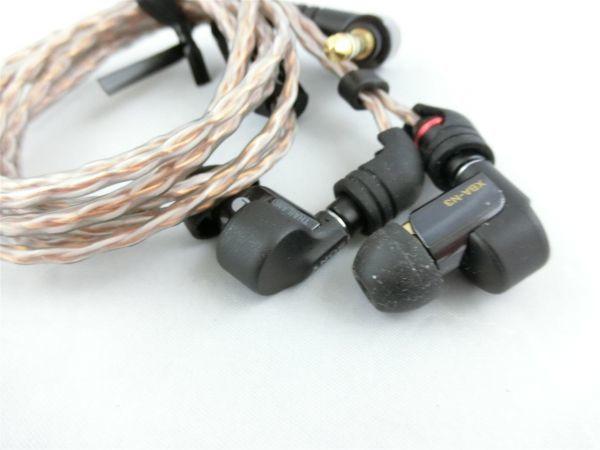 Sony XBA-N3 イヤホン ハイレゾ KIMBER KABLE MUC-M12SB1付替え 4.4mm 純正ケース付き/Y1125-1725_画像6