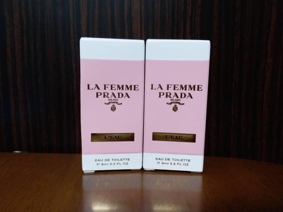 new goods LA FEMME PRADA L'EAU eau de toilette Prada perfume