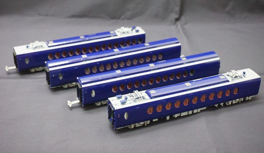 ムサシノモデル HO 南海電鉄50000系 特急 ラピート 6輌セット_画像3