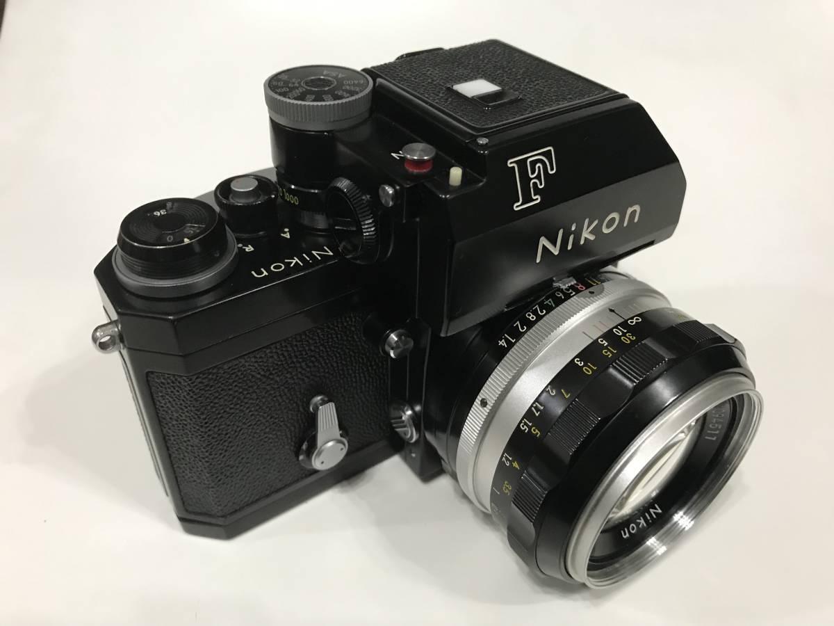 Nikon F フォトミックTn ブラック 黒 本体・NIKKOR 1:1.4 f=50mm レンズ 1円スタートです!!
