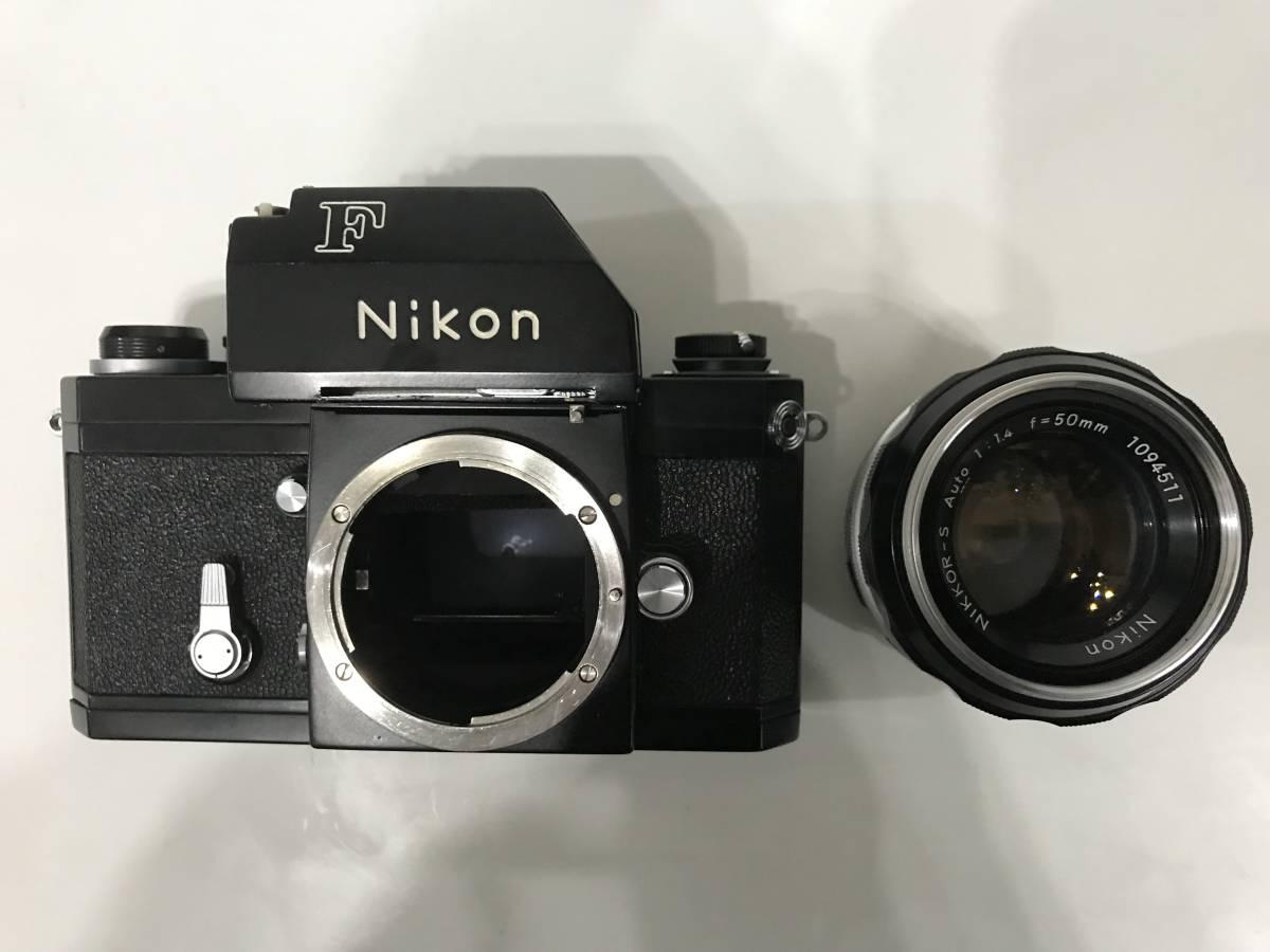Nikon F フォトミックTn ブラック 黒 本体・NIKKOR 1:1.4 f=50mm レンズ 1円スタートです!! _画像6