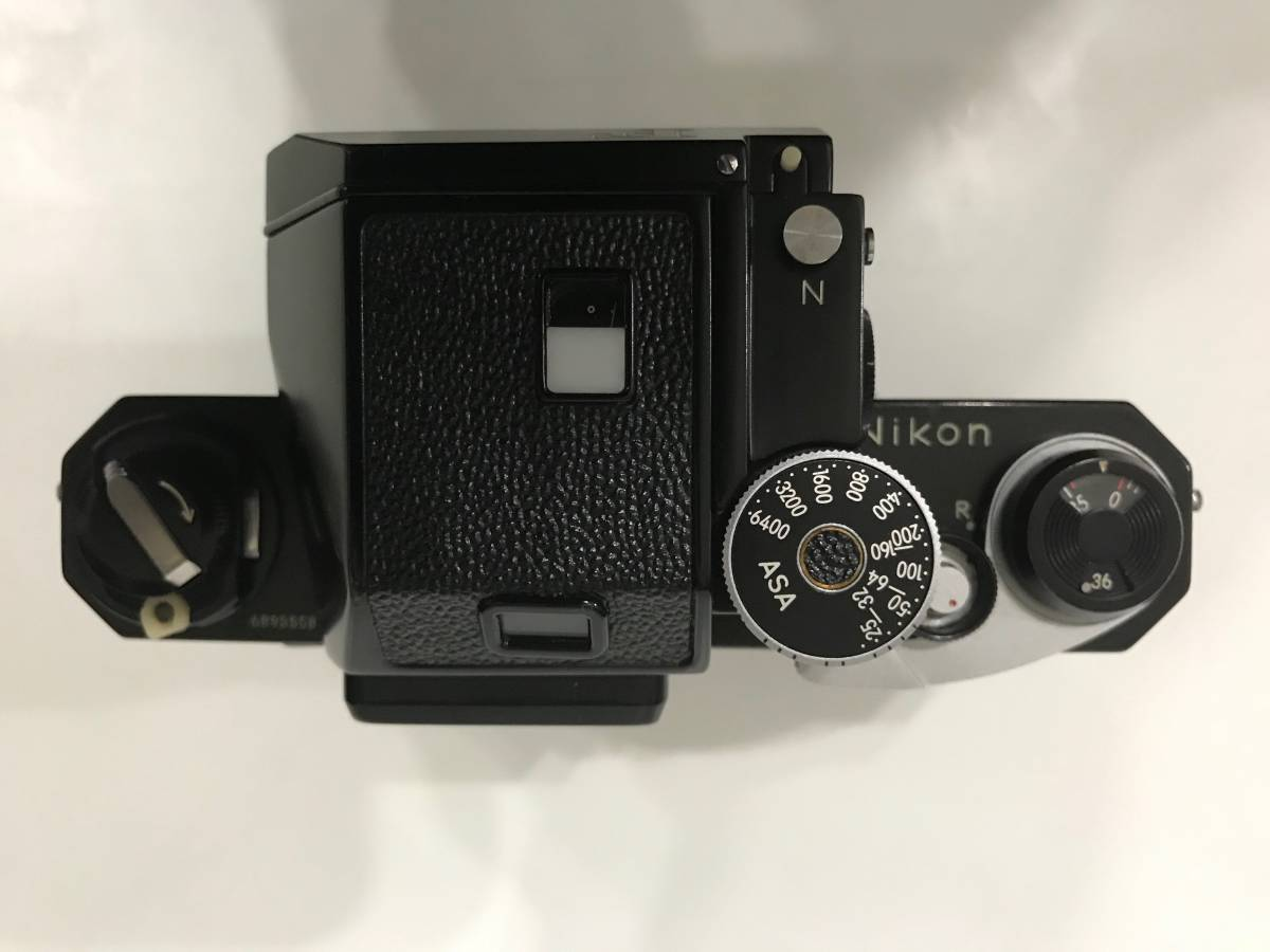 Nikon F フォトミックTn ブラック 黒 本体・NIKKOR 1:1.4 f=50mm レンズ 1円スタートです!! _画像5