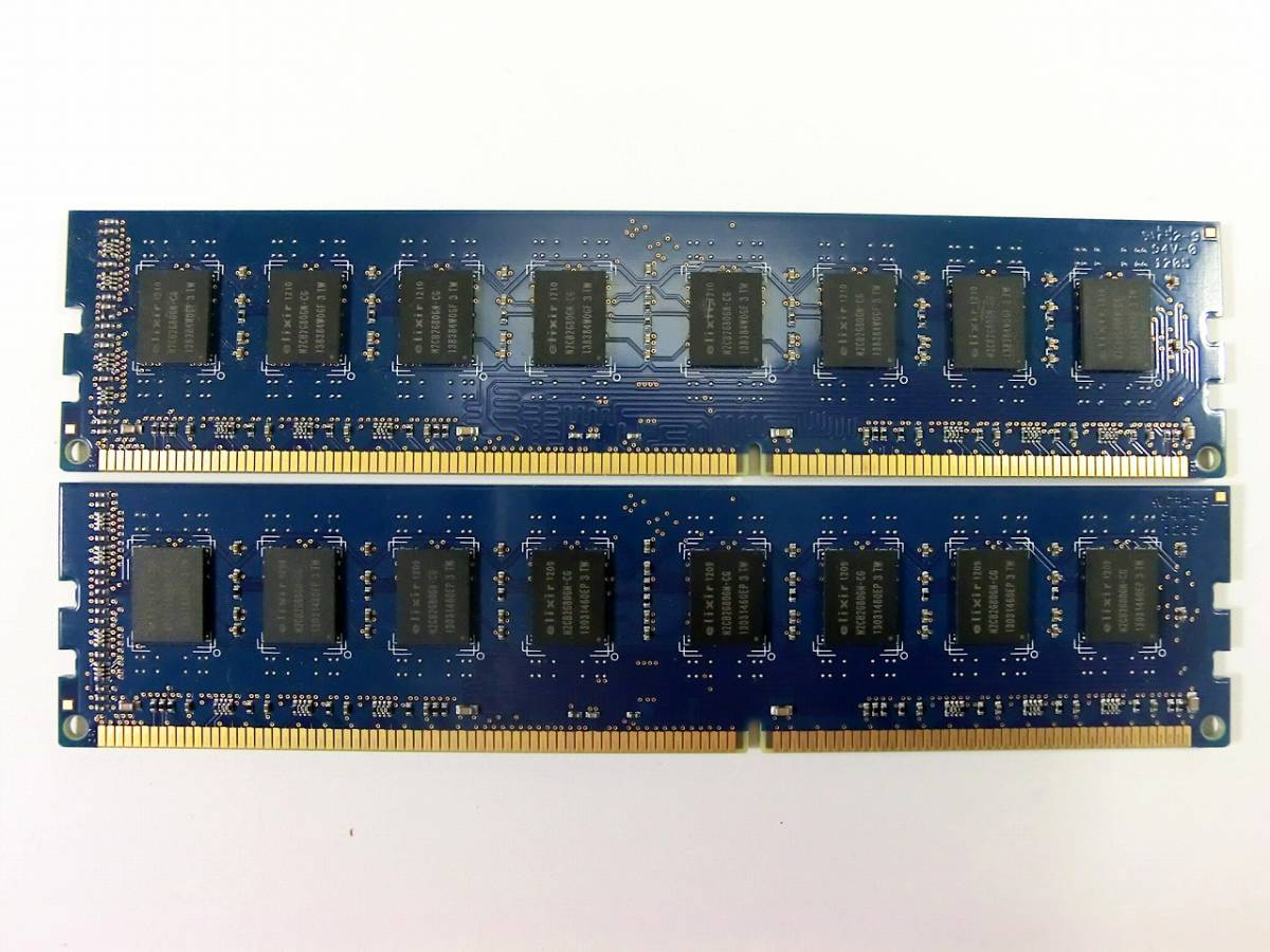 elixir DDR3 PC3 メモリ② 4GB×2枚 計8GB_画像3
