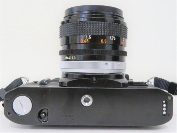 正規品 Canon キャノン 一眼レフ A-1 レンズ 50mm 1:1.4 フィルムカメラ カメラバッグ付き_画像6
