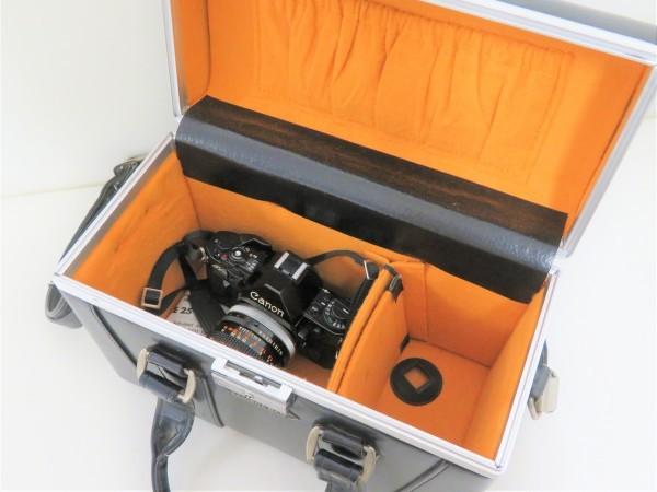 正規品 Canon キャノン 一眼レフ A-1 レンズ 50mm 1:1.4 フィルムカメラ カメラバッグ付き_画像10