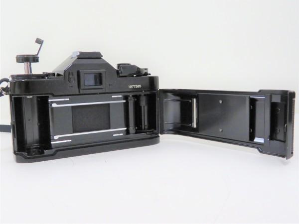 正規品 Canon キャノン 一眼レフ A-1 レンズ 50mm 1:1.4 フィルムカメラ カメラバッグ付き_画像7