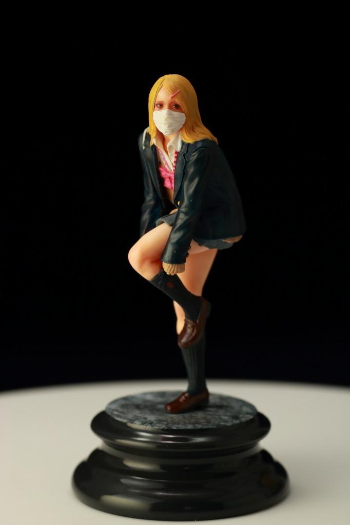 MK-2 まっつく 女子高生 JK フィギュア ガレージキット完成品 1/20_画像3