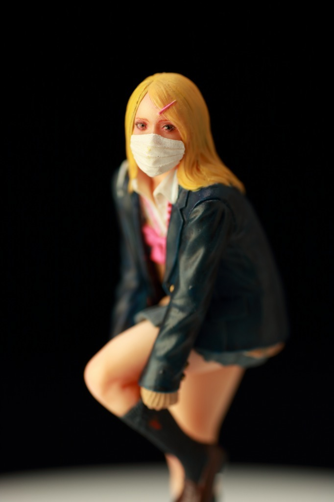 MK-2 まっつく 女子高生 JK フィギュア ガレージキット完成品 1/20_画像9
