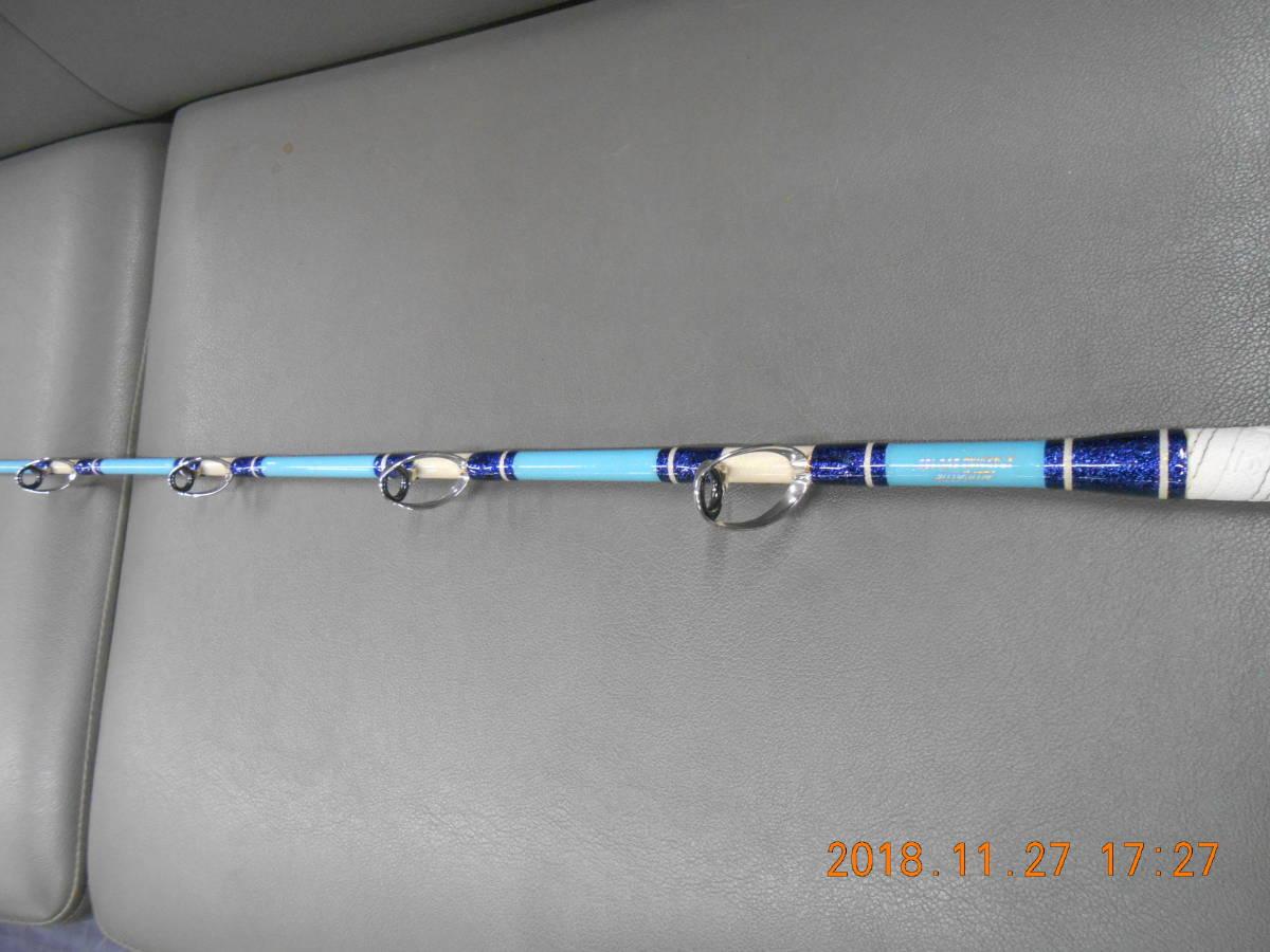 アリゲーター技研 船竿 スタンディングエボ185 綺麗なお品です。ヒラマサ、カンパチ、大型底物等船からの大物とのスタンディングに最適_画像7