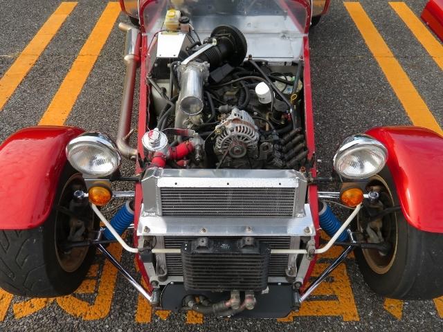 即決!ケータハム スーパー7 13B ロータリーエンジン 5速MT クイックリリースハンドル ETC 他改造多数_画像7