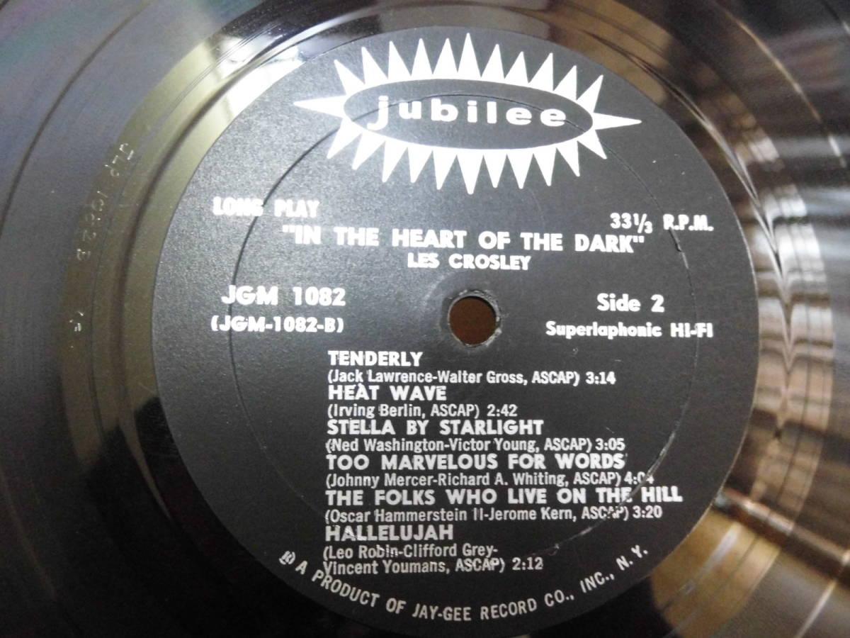 *【LP】LES CROSLEY / IN THE HEART OF THE DARK(輸入盤)JLP-1082_画像2