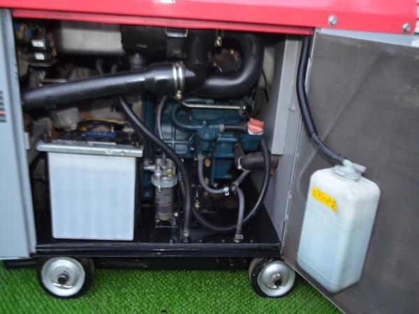 ディーゼルエンジン溶接機DGW201M。 [50メートル 溶接コード付き] 。動作確認済みです。_画像5