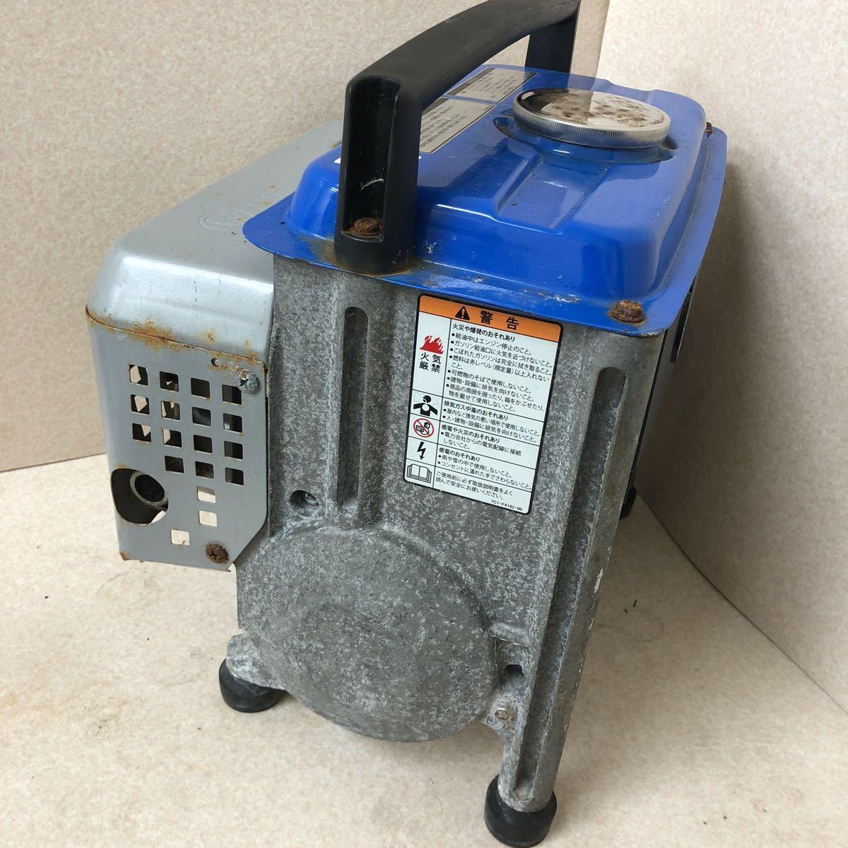 YAMAHA ヤマハ 発電機 EF900FW 動作確認済み_画像4