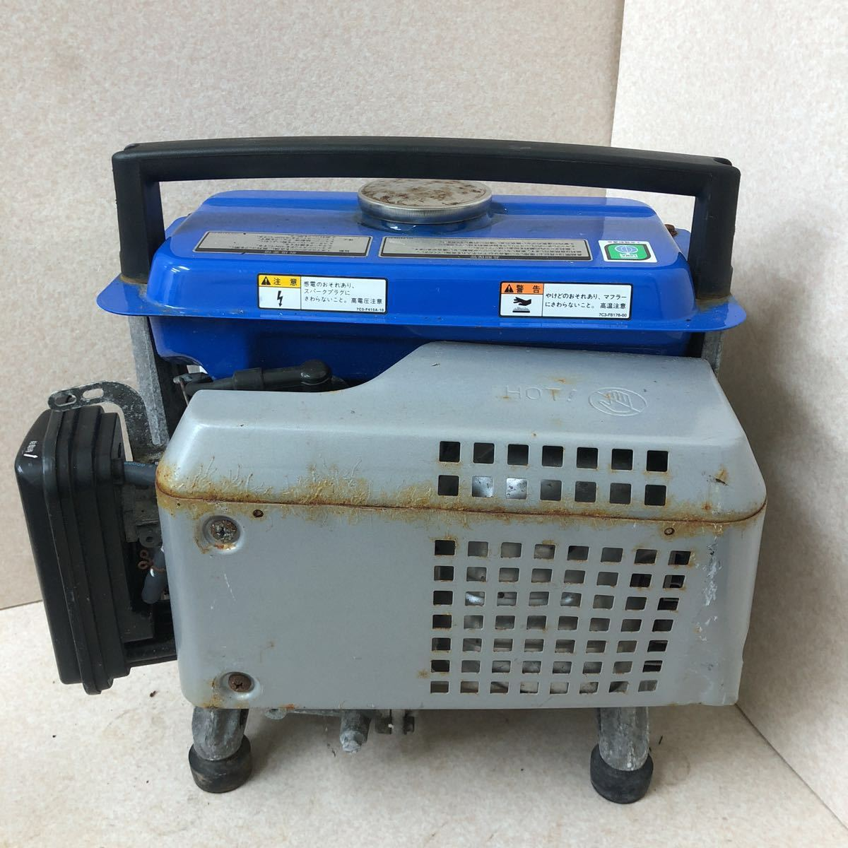 YAMAHA ヤマハ 発電機 EF900FW 動作確認済み_画像2