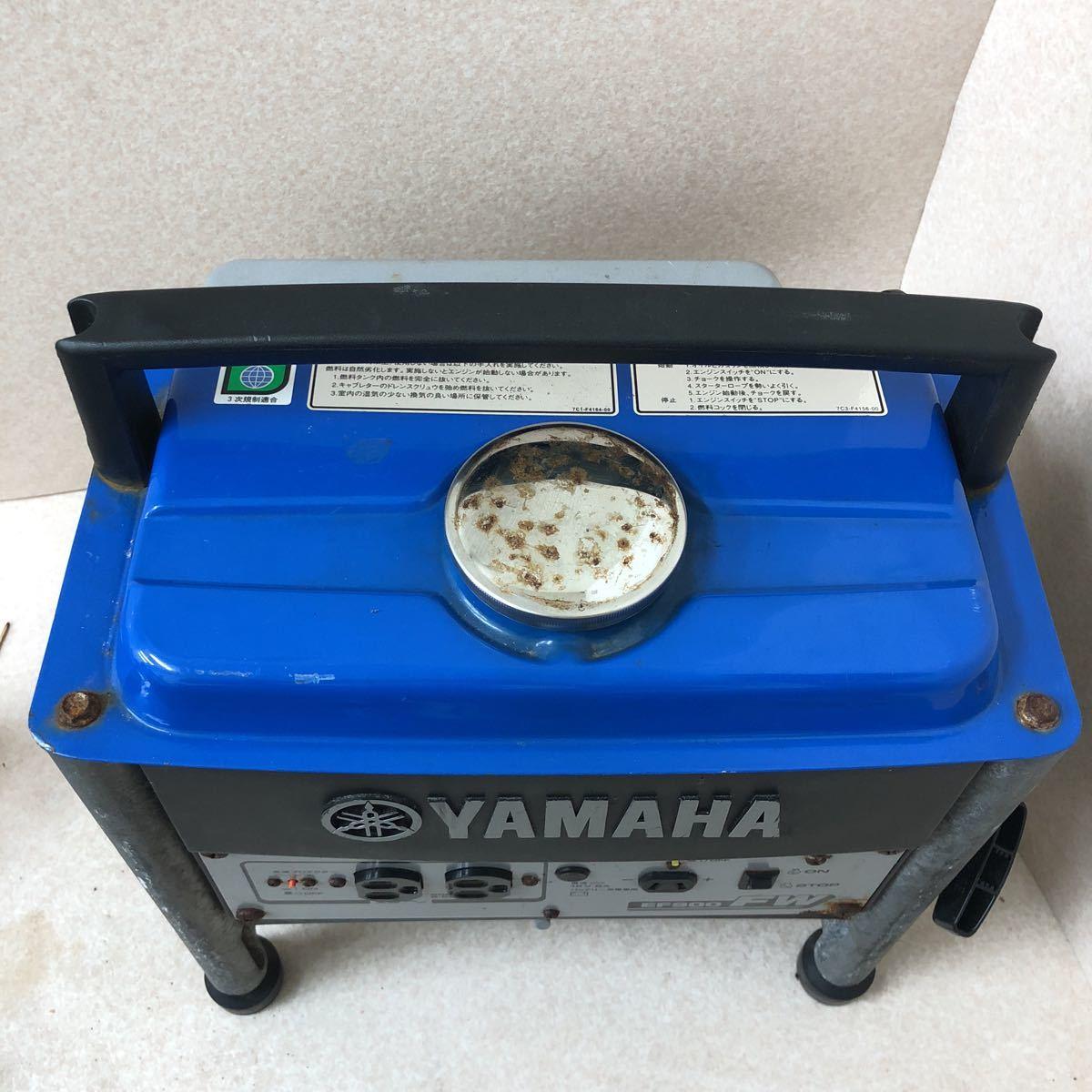 YAMAHA ヤマハ 発電機 EF900FW 動作確認済み_画像9