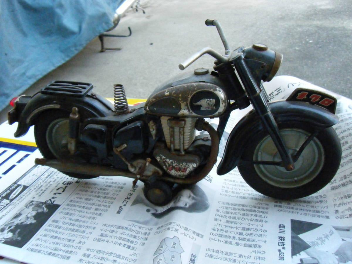 オートバイ メグロ Z7 500cc 全長約30cm_画像4
