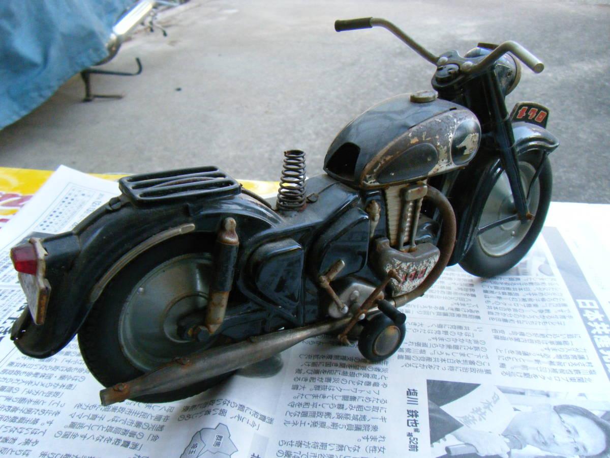 オートバイ メグロ Z7 500cc 全長約30cm_画像5