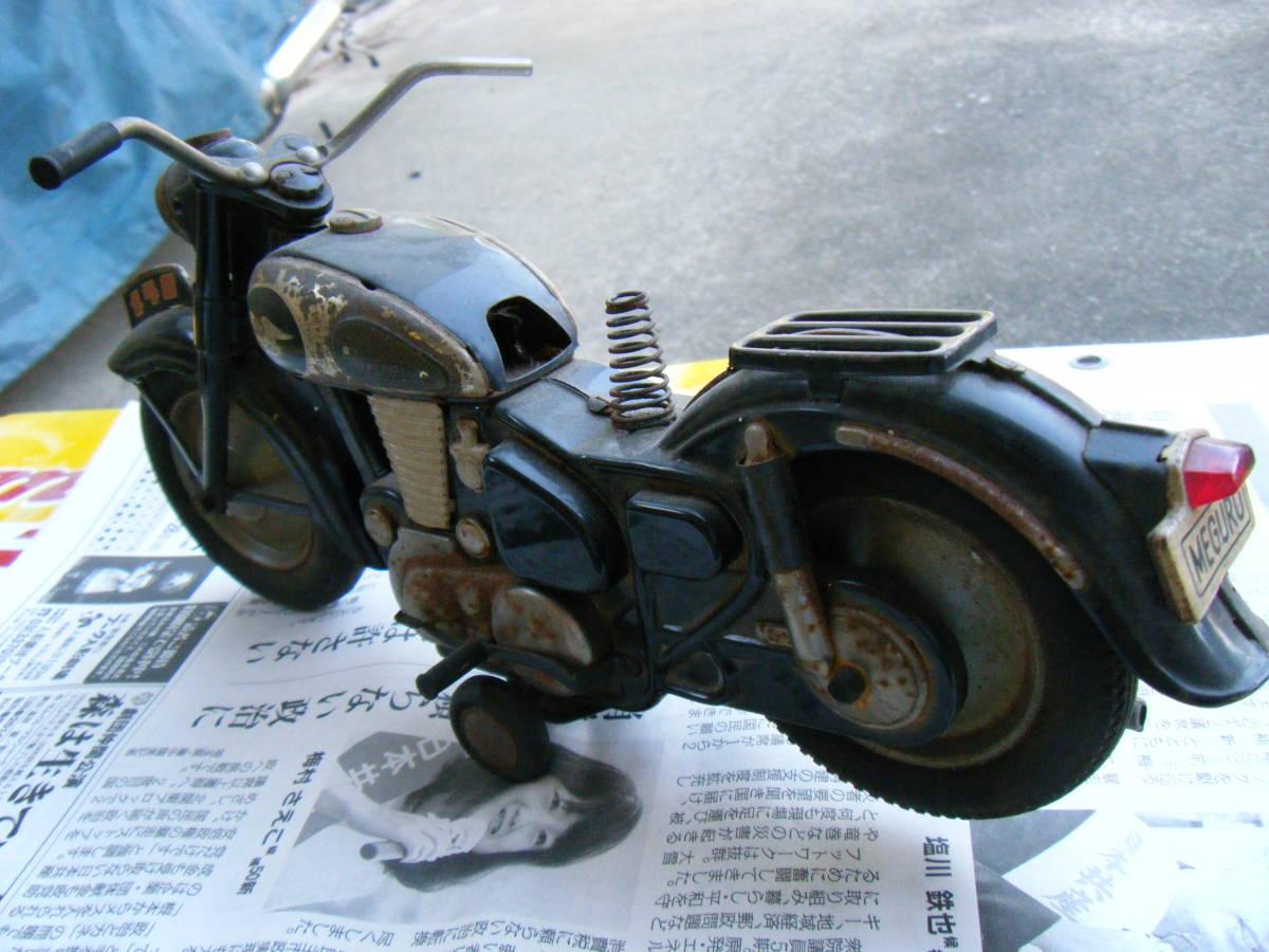 オートバイ メグロ Z7 500cc 全長約30cm_画像8