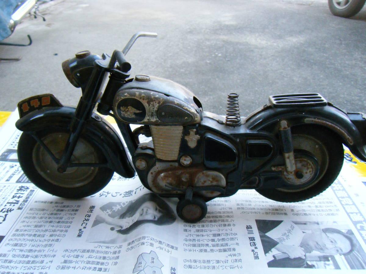 オートバイ メグロ Z7 500cc 全長約30cm_画像6
