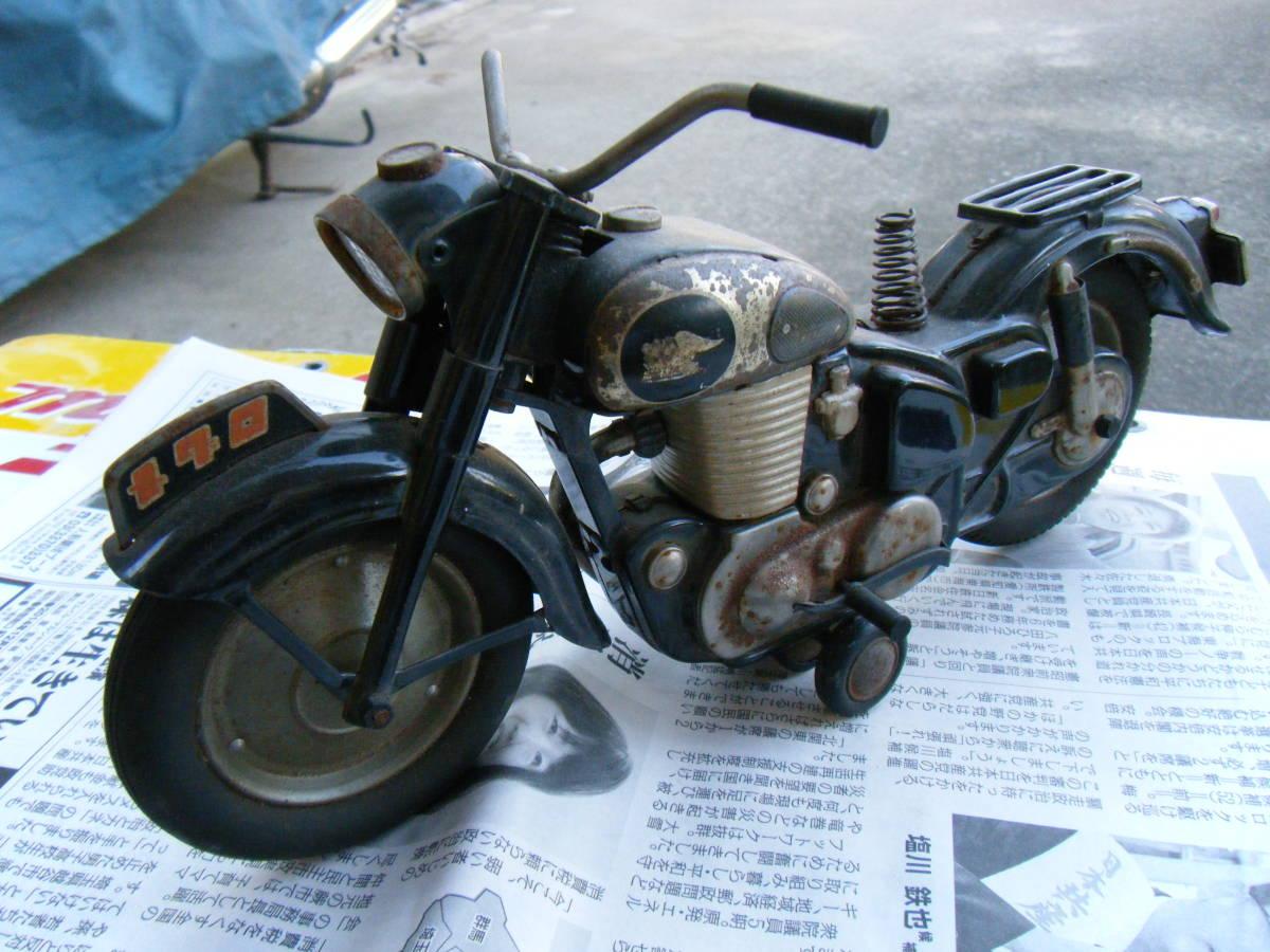 オートバイ メグロ Z7 500cc 全長約30cm_画像7