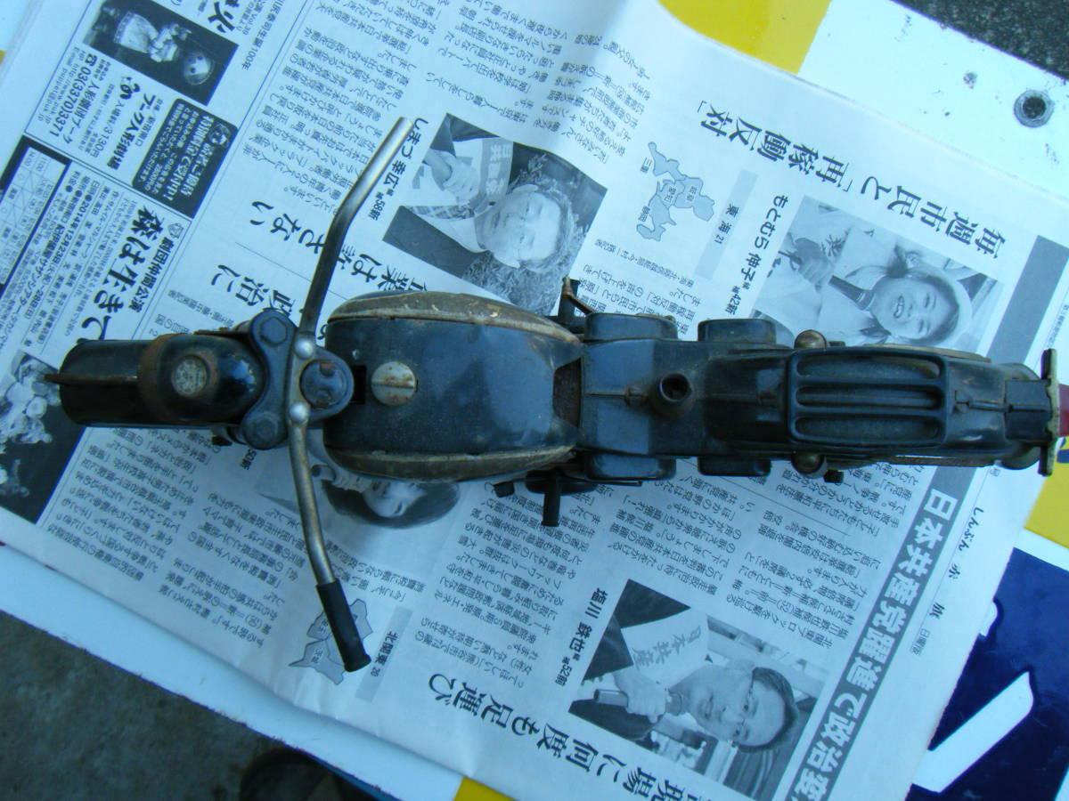 オートバイ メグロ Z7 500cc 全長約30cm_画像9