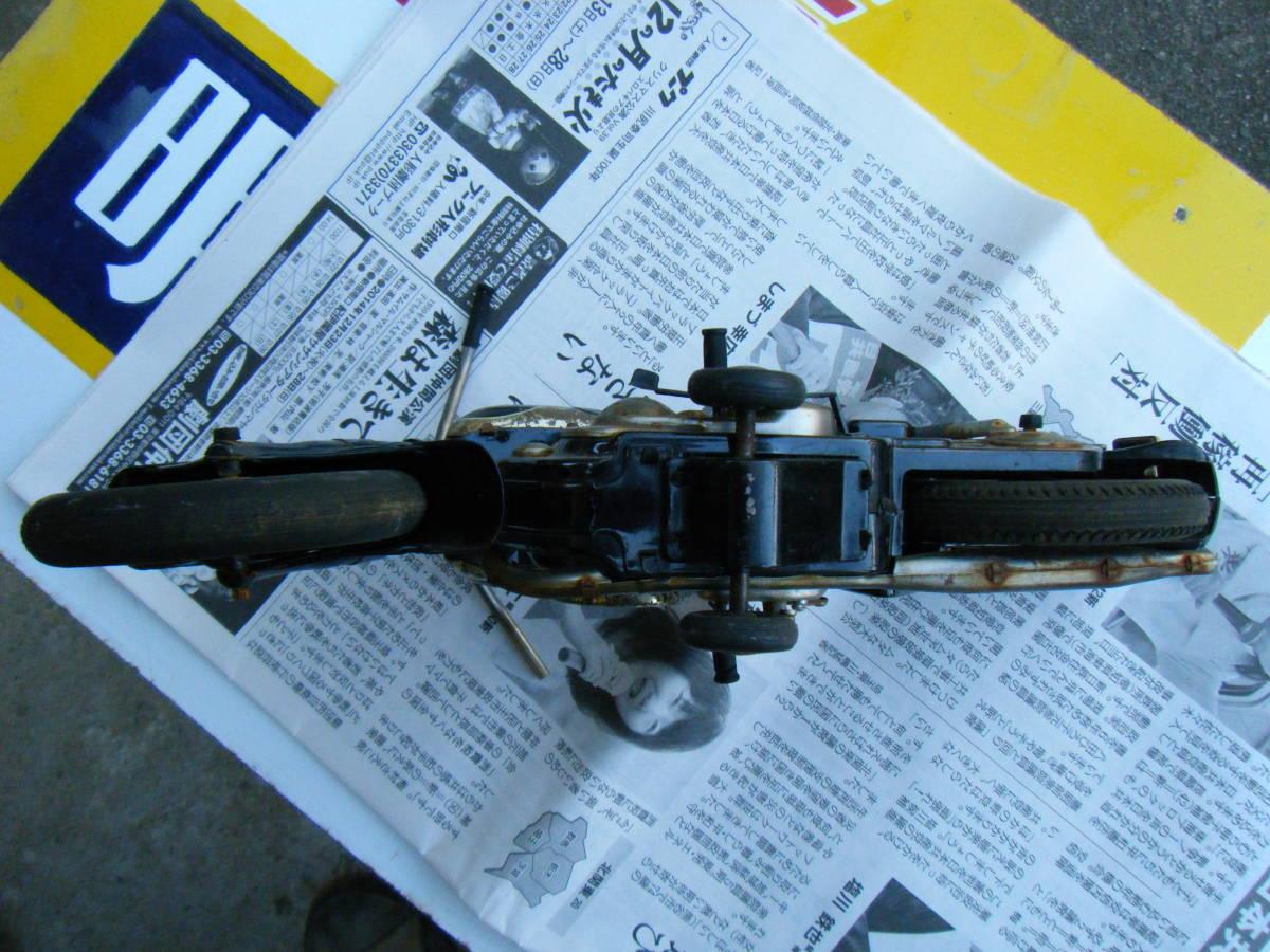 オートバイ メグロ Z7 500cc 全長約30cm_画像10