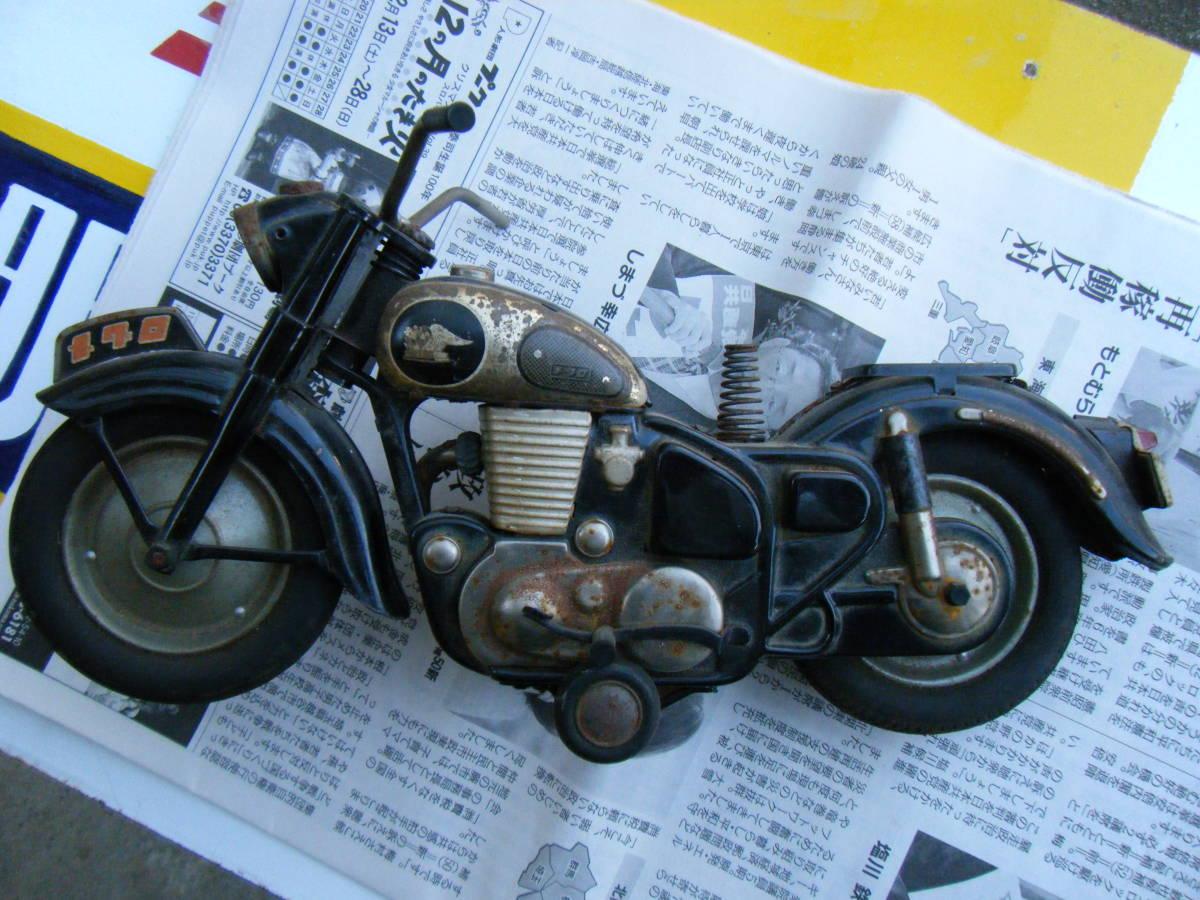 オートバイ メグロ Z7 500cc 全長約30cm_画像2