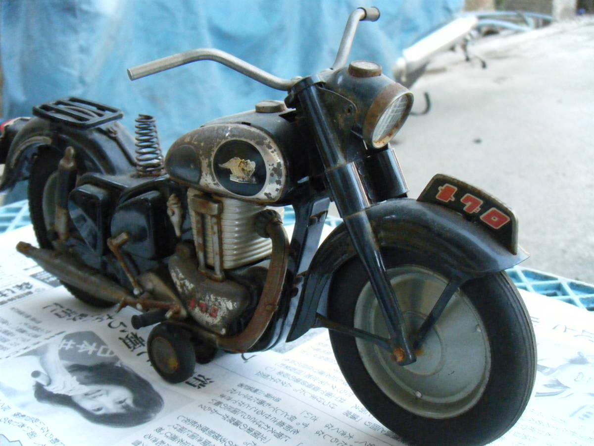 オートバイ メグロ Z7 500cc 全長約30cm_画像3