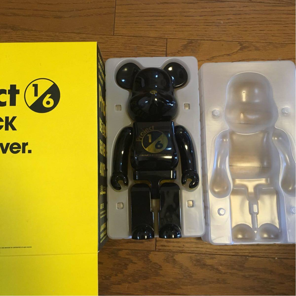 BE@RBRICK Project1/6 BE@RBRICK RENEWAL ver 400% ベアブリック 1/6計画 1/6プロジェクト リニューアル_画像4