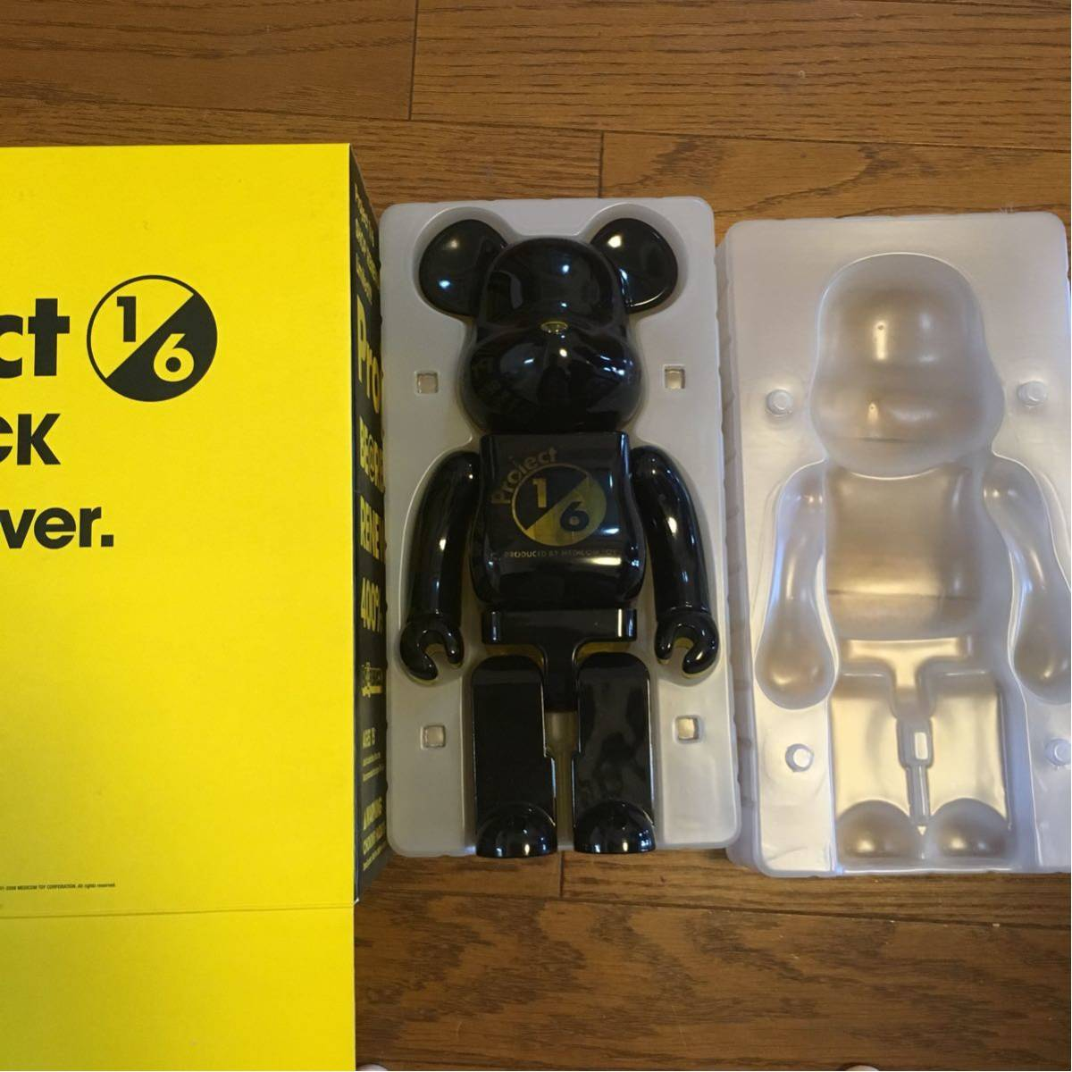 BE@RBRICK Project1/6 BE@RBRICK RENEWAL ver 400% ベアブリック 1/6計画 1/6プロジェクト リニューアル_画像3