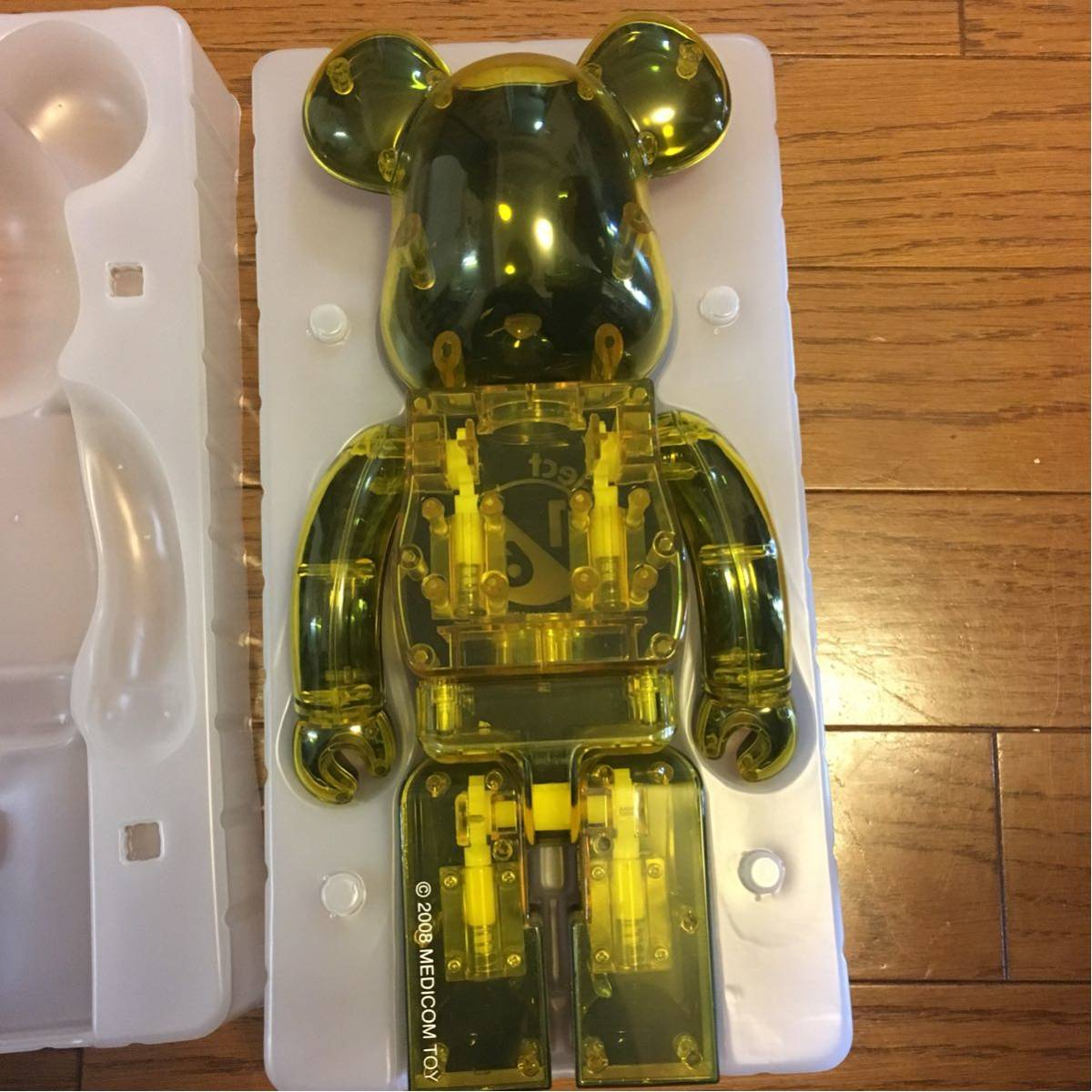 BE@RBRICK Project1/6 BE@RBRICK RENEWAL ver 400% ベアブリック 1/6計画 1/6プロジェクト リニューアル_画像6