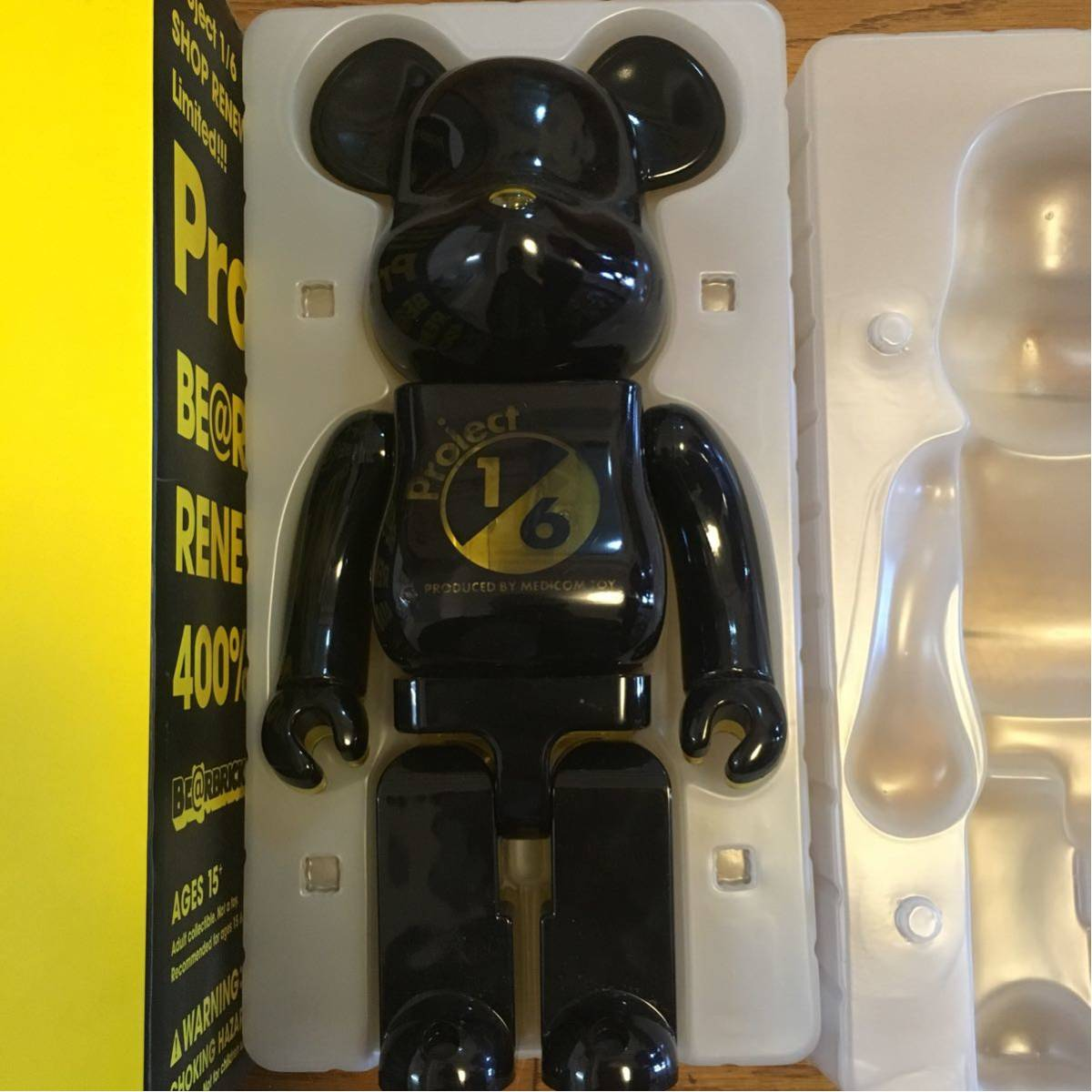 BE@RBRICK Project1/6 BE@RBRICK RENEWAL ver 400% ベアブリック 1/6計画 1/6プロジェクト リニューアル_画像5
