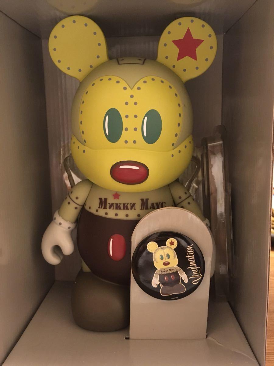 ディズニー バイナルメーション メディコムトイ フィギュア ベアブリック ミッキーマウス ミッキー_画像2