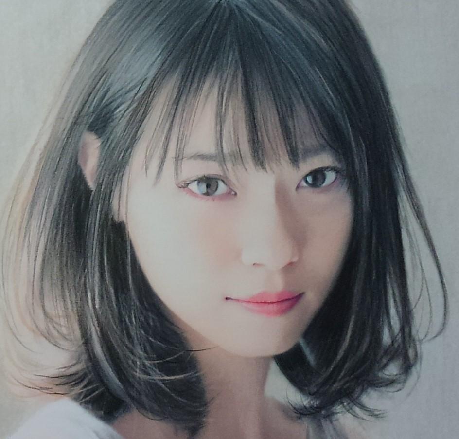 『作品633』S.Tomo氏直筆色鉛筆画 超美品 美人画 新品額装_画像3